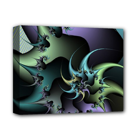 Fractal Image With Sharp Wheels Deluxe Canvas 14  x 11
