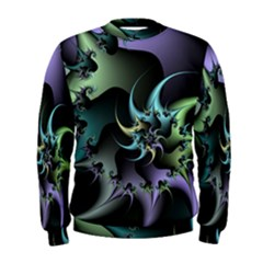Fractal Image With Sharp Wheels Men s Sweatshirt