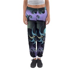Fractal Image With Sharp Wheels Women s Jogger Sweatpants
