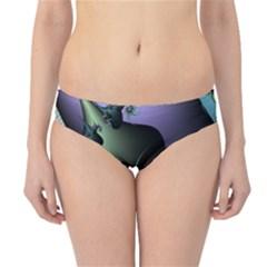 Fractal Image With Sharp Wheels Hipster Bikini Bottoms