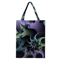 Fractal Image With Sharp Wheels Classic Tote Bag