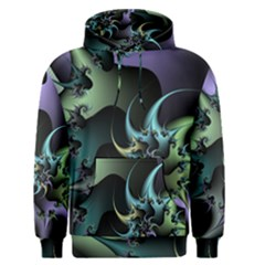 Fractal Image With Sharp Wheels Men s Pullover Hoodie