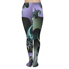 Fractal Image With Sharp Wheels Women s Tights