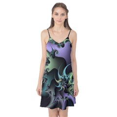 Fractal Image With Sharp Wheels Camis Nightgown