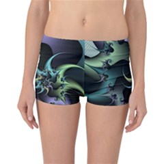 Fractal Image With Sharp Wheels Reversible Bikini Bottoms
