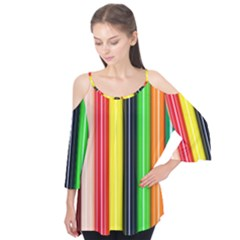 Stripes Colorful Striped Background Wallpaper Pattern Flutter Tees