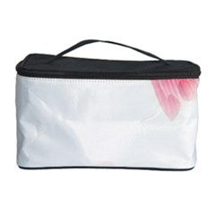 Abstract Pink Page Border Cosmetic Storage Case