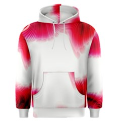 Abstract Pink Page Border Men s Pullover Hoodie