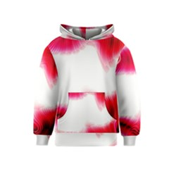 Abstract Pink Page Border Kids  Pullover Hoodie