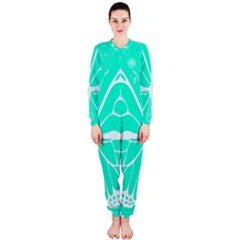 Butterfly Cut Out Flowers Onepiece Jumpsuit (ladies)