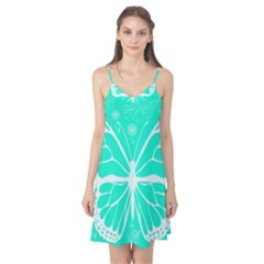 Butterfly Cut Out Flowers Camis Nightgown
