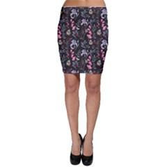 Wildflowers I Bodycon Skirt