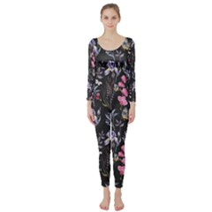 Wildflowers I Long Sleeve Catsuit