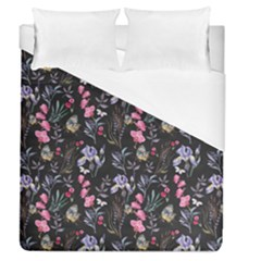 Wildflowers I Duvet Cover (queen Size)
