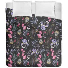 Wildflowers I Duvet Cover Double Side (california King Size)
