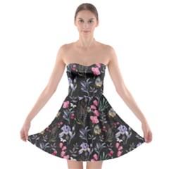 Wildflowers I Strapless Bra Top Dress