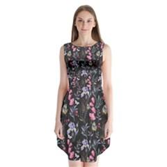 Wildflowers I Sleeveless Chiffon Dress