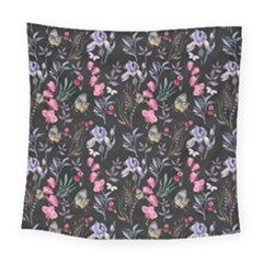 Wildflowers I Square Tapestry (large)