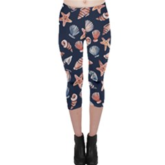 Shells Capri Leggings