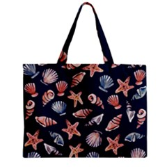 Shells Zipper Mini Tote Bag