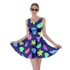 Shells Skater Dress