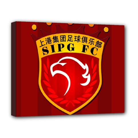 Shanghai Sipg F C  Deluxe Canvas 20  X 16