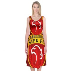 Shanghai SIPG F.C. Midi Sleeveless Dress