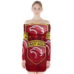 Shanghai SIPG F.C. Long Sleeve Off Shoulder Dress