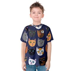 Cat  Kids  Cotton Tee