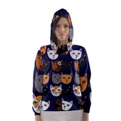 Cat  Hooded Wind Breaker (Women)