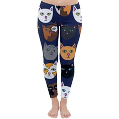 Cat  Classic Winter Leggings