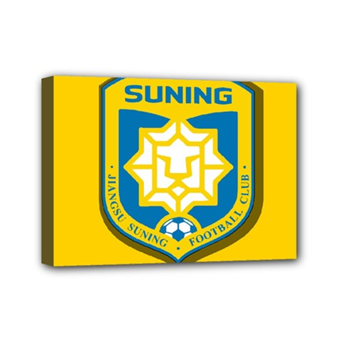 Jiangsu Suning F.C. Mini Canvas 7  x 5