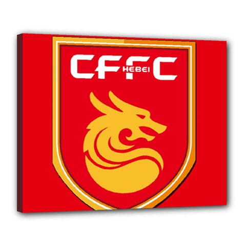 Hebei China Fortune F.C. Canvas 20  x 16