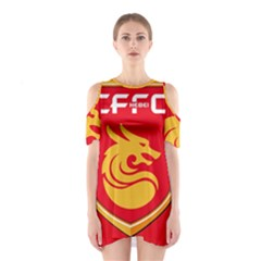 Hebei China Fortune F.C. Shoulder Cutout One Piece