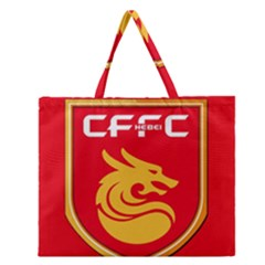 Hebei China Fortune F.C. Zipper Large Tote Bag