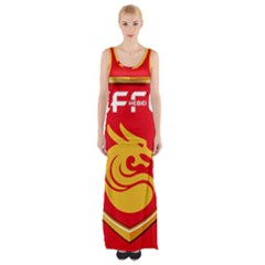 Hebei China Fortune F.C. Maxi Thigh Split Dress