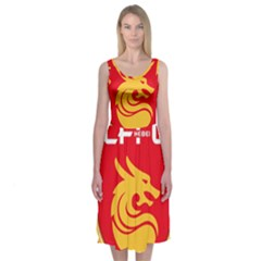 Hebei China Fortune F.C. Midi Sleeveless Dress