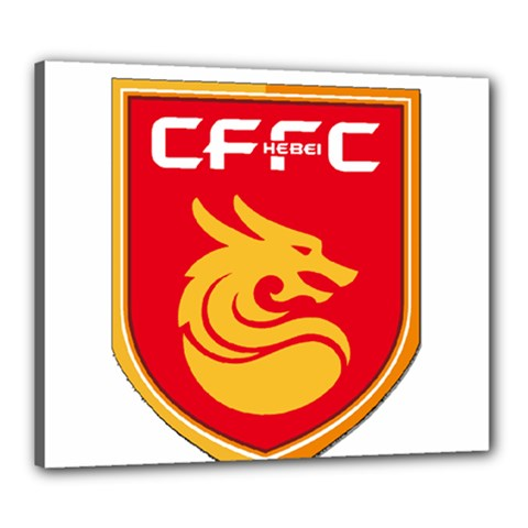 Hebei China Fortune F.C. Canvas 24  x 20