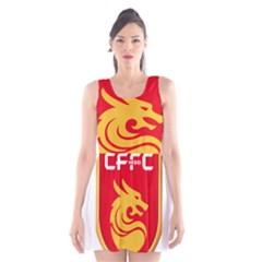 Hebei China Fortune F.C. Scoop Neck Skater Dress
