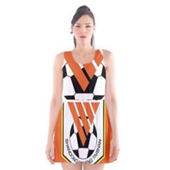 Shandong Luneng Taishan F.C. Scoop Neck Skater Dress
