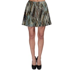 Abstract Chinese Background Created From Building Kaleidoscope Skater Skirt