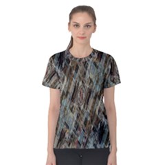 Abstract Chinese Background Created From Building Kaleidoscope Women s Cotton Tee