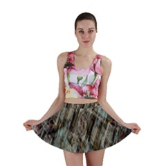 Abstract Chinese Background Created From Building Kaleidoscope Mini Skirt