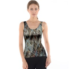 Abstract Chinese Background Created From Building Kaleidoscope Tank Top