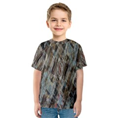 Abstract Chinese Background Created From Building Kaleidoscope Kids  Sport Mesh Tee
