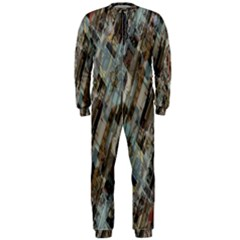 Abstract Chinese Background Created From Building Kaleidoscope OnePiece Jumpsuit (Men)