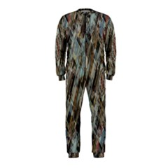 Abstract Chinese Background Created From Building Kaleidoscope OnePiece Jumpsuit (Kids)
