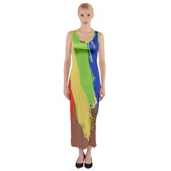 Hintergrund Tapete  Texture Fitted Maxi Dress