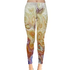 Space Abstraction Background Digital Computer Graphic Leggings