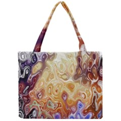Space Abstraction Background Digital Computer Graphic Mini Tote Bag